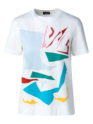 Akris cut-out appliqué t-shirt