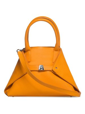 Akris little ai leather tote