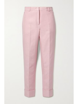 Akris maxima cropped cotton-blend twill tapered pants