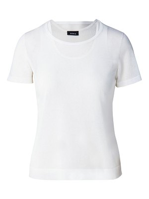 Akris overlay knit t-shirt