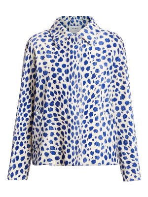 Akris punto animal dot jacket