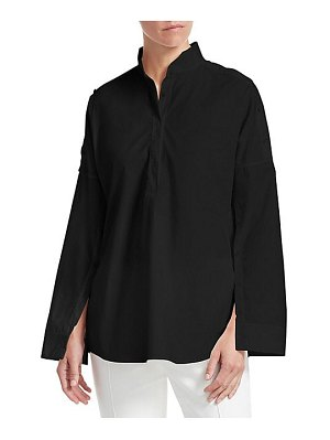 Akris punto buttoned sleeve blouse