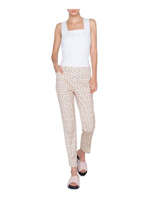 Akris punto Franca Cotton Stretch Memphis Bell Air Pants