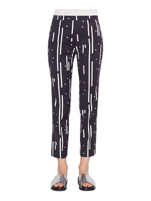 Akris punto Franca Memphis Cotton-Stretch Pants