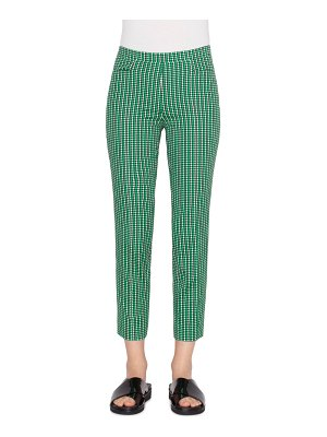 Akris punto Franca Printed Stretch-Cotton Pants