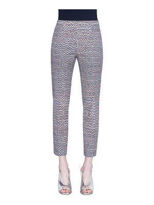 Akris punto Franca Stretch Cotton Pants