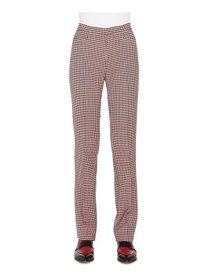 Akris punto francoise houndstooth jersey pants