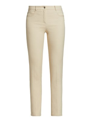Akris magda double-faced stretch pants
