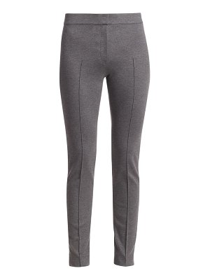 Akris punto mara stretch jersey pants