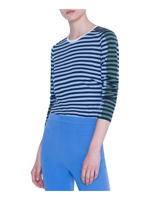 Akris punto Merino Striped Sweater