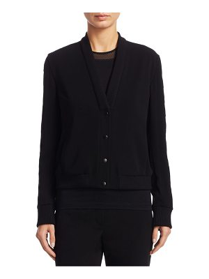 Akris punto snap button-front cardigan