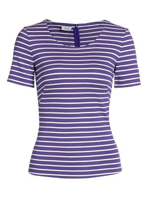 Akris punto striped jersey t-shirt