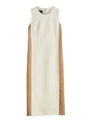 Akris two-tone sheath dress