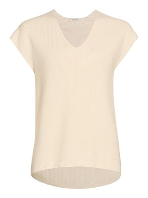 Akris punto v-neck oversized t shirt
