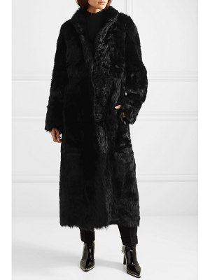 Akris reversible shearling coat