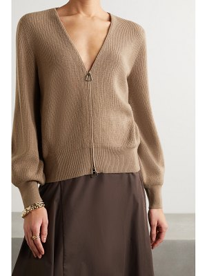 Akris ribbed cashmere cardigan