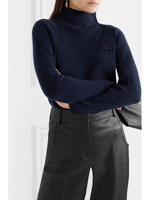 Akris ribbed cashmere turtleneck sweater