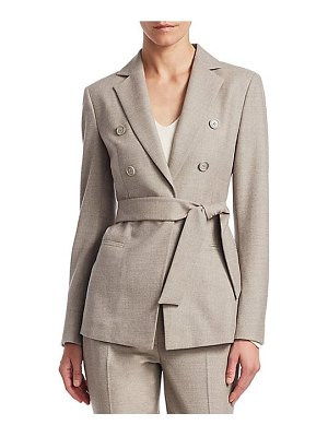 Akris sibylle self-tie jacket
