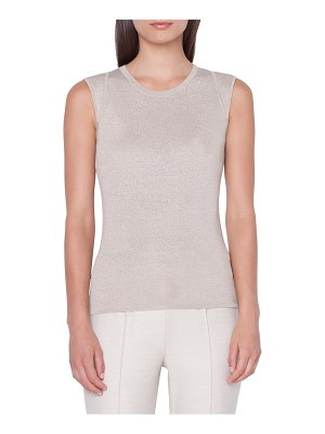 Akris silk blend sweater tank