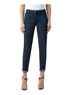 Akris Slim Stretch Denim Pants