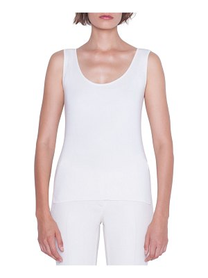 Akris Stretch Silk Sleeveless Top