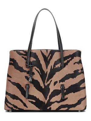 Alaïa mina medium calf hair tote