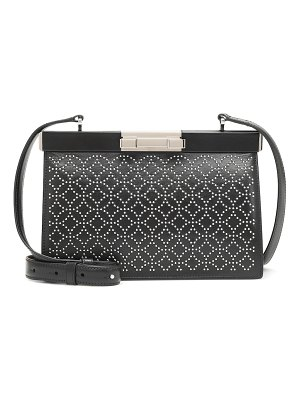 Alaïa cecile 24 leather shoulder bag