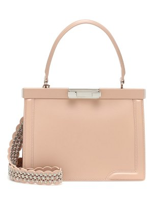 Alaïa cecile 26 leather shoulder bag