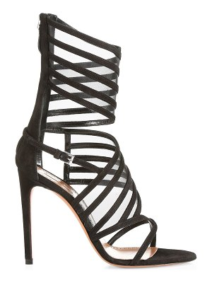 Alaïa strappy wrap ankle high heel sandals