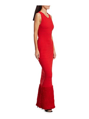 ALAIA Textured Gown