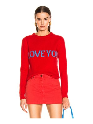 ALBERTA FERRETTI I Love You Sweater