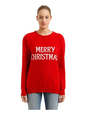 ALBERTA FERRETTI Over merry christmas wool blend sweater