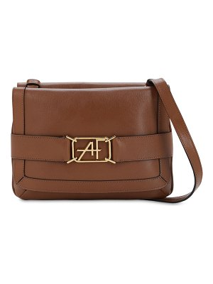 ALBERTA FERRETTI Smooth leather shoulder bag