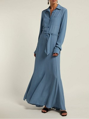 ALBUS LUMEN azul shirtdress