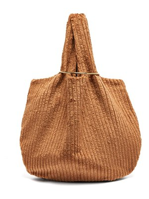 ALBUS LUMEN sensillo jumbo cotton-corduroy bag