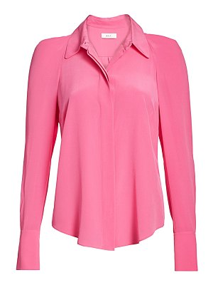 A.L.C. carrera structured silk blouse