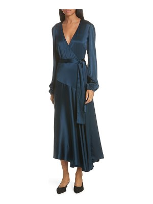 A.L.C. darby stretch silk wrap dress