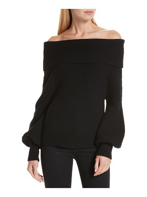 A.L.C. elin off the shoulder sweater