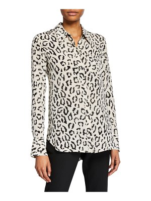 A.L.C. Emerson Printed Button-Down Top