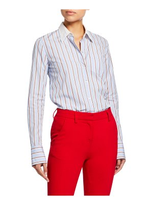A.L.C. Emerson Striped Button-Down Top