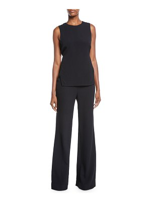 A.L.C. Friedan Open-Back Sleeveless Jumpsuit