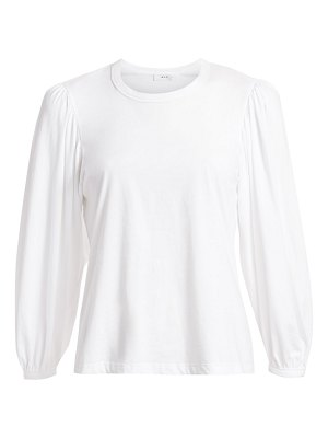 A.L.C. heathered puff sleeve t-shirt