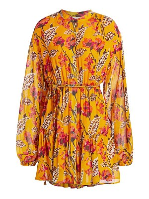 A.L.C. jen floral silk dress