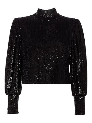 A.L.C. margaret puff-sleeve sequin top