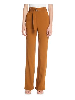 A.L.C. Morgan Belted Straight-Leg Pants