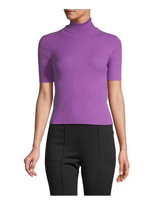 A.L.C. Ribbed Wool-Blend Top