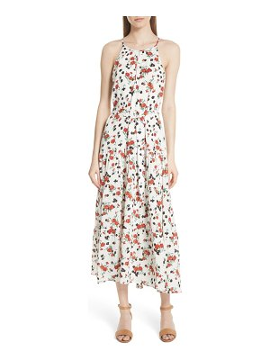 A.L.C. richards floral print silk dress