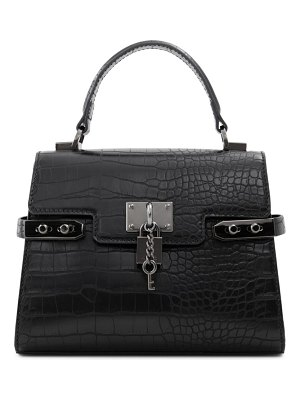 ALDO agroliaa faux leather top handle bag in other black at nordstrom