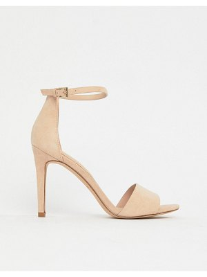 ALDO fiolla barely there suede heeled sandals