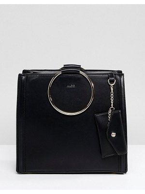 ALDO Tote Shopper Bag With Circle Ring Handle Detail